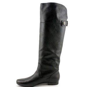 AUTHENTIC Coach Benita Leather Tall Riding Boots